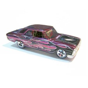 Hot Wheels - Ford Thunderbolt - Classics 2006 - Roxo - Sem cartela (loose)
