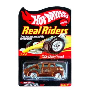 Hot Wheels - 50s Chevy Truck - Real Riders Series 6
