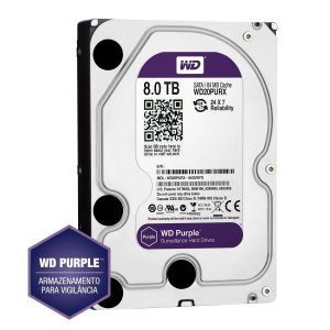 HD SATA Western Digital WD Purple 8TB - WD80PUZX