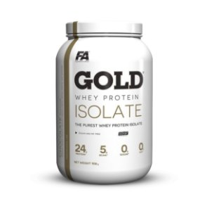 Gold Whey Protein Isolate 3lb - FA Nutrition