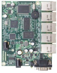 Roteador Mikrotik RouterBoard 450 (RB450)