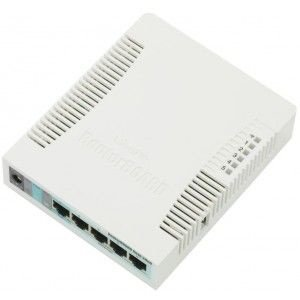 Roteador Wireless Mikrotik RouterBoard 951 (RB951G-2HnD)