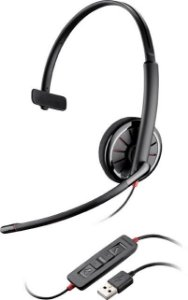 Headset Monoauricular Plantronics Blackwire C310-M c/ Conector USB