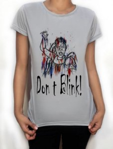 """Camiseta Exclusiva """"Don't Blink!"""" - Doctor Who"""