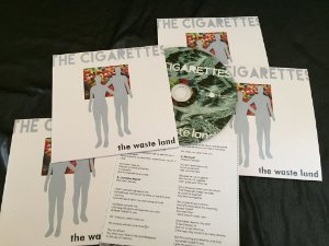 The Cigarettes - The Waste Land (cd)