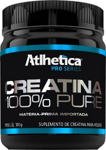 CREATINA 100% PURE (100G) - ATLHÉTICA NUTRITION