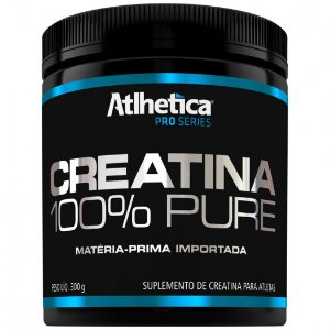CREATINA 100% PURE (300G) - ATLHÉTICA NUTRITION