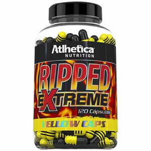 RIPPED EXTREME YELLOW (120 CAPS) - ATLHÉTICA NUTRITION
