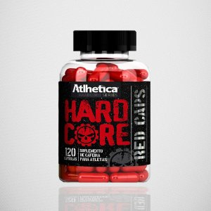 HARDCORE RED CAPS (120 CAPS) -  - ATLHÉTICA NUTRITION