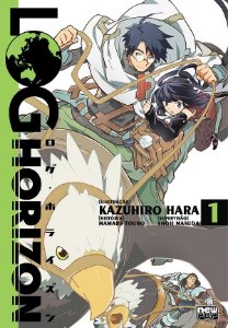 Log Horizon: Mangá vol. 01