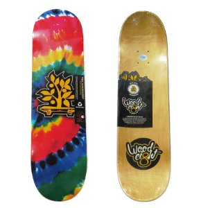 Shape Wood Light Tie Dye 7.75