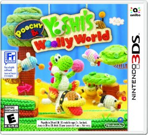 Nintendo 3Ds poochy and yoshi's wooly world