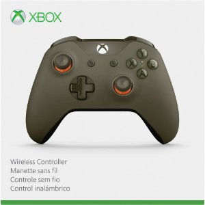 Controle Xbox One S Militar Green Orange