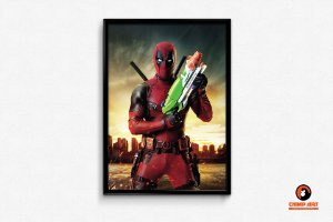 Pôster Dead Pool - Water Gun