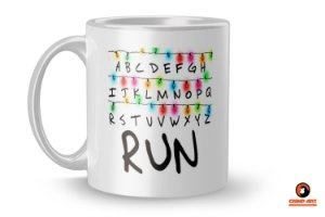 Caneca Stranger Things - RUN