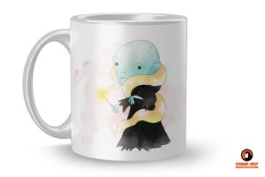 Caneca Harry Potter Aquarela - Voldemort