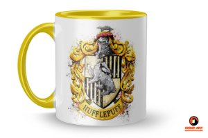 Caneca Harry Potter - Hufflepuff