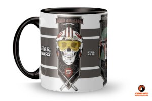 Caneca Star Wars - Fly Fighters