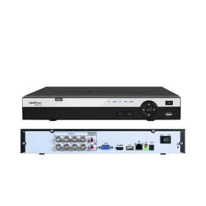Dvr Hdcvi 3008 Intelbras 8 Canais Hdcvi e Ip Full Hd