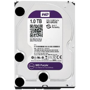 HD Sata Western Digital WD Purple 1TB - WD10PURX