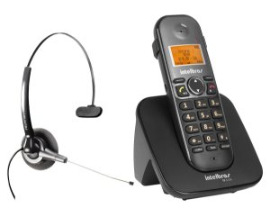 Kit Telefone Intelbras Ts 5120 + Headset Felitron