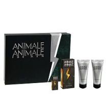 Kit Animale Animale For Men Edt 100ml + After Shave Balm 100ml + Body Wash 100ml + Miniatura 7,5ml
