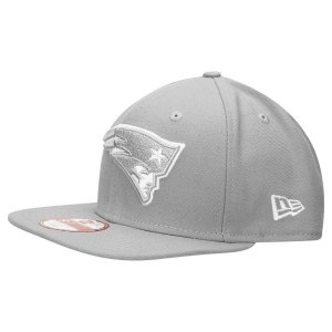 Boné New England Patriots 950 Snapback White on Gray - New Era