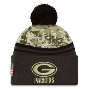 Gorro Green Bay Packers Salute To Service STS Militar- New Era