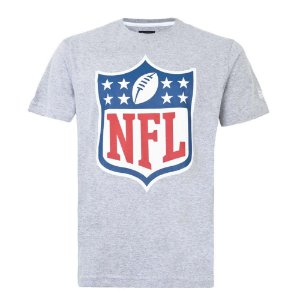 Camiseta NFL Logo Cinza - New Era