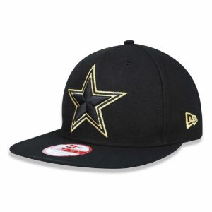 Boné Dallas Cowboys 950 Gold on Black - New Era