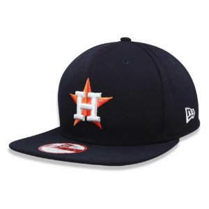 Boné Houston Astros Strapback Team Color MLB - New Era