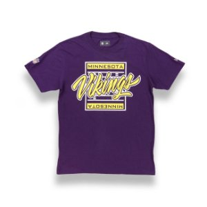 Camiseta Minnesota Vikings Yards Roxa - New Era