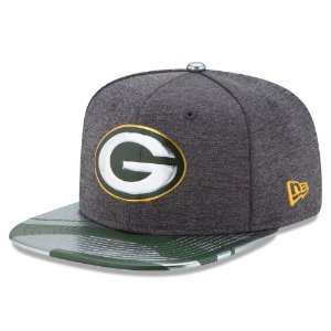 Boné Green Bay Packers DRAFT 2017 Spotlight Snapback - New Era