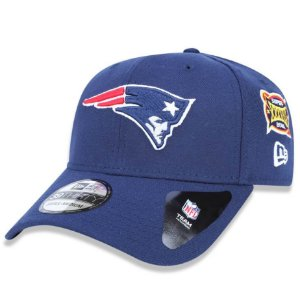Boné New England Patriots 3930 5x Champion Azul - New Era