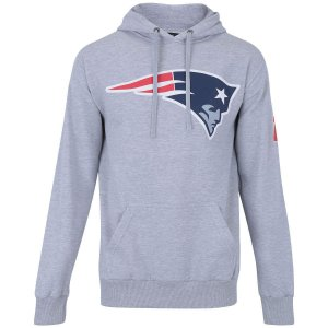 Casaco Moletom New England Patriots Basic Cinza - New Era