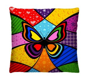 Kit com 5 Capas de Almofadas Decorativas Pop Art