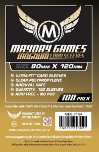Sleeves Mayday 80x120mm - Magnum Gold - para Dixit e outros