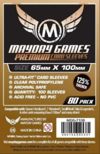 Sleeves Mayday 65x100mm - Magnum Copper PREMIUM - 7 Wonders