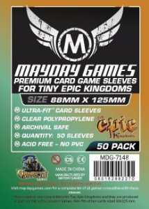 Sleeves Mayday 88x125mm PREMIUM - Tiny Epic e Black Stories