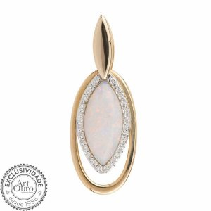Pingente - Opala - Ouro 18k