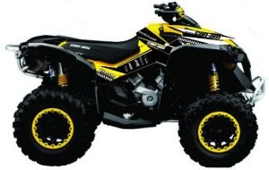 Kit Gráfico Can-am Renegade 500/1000 - Can-am STD