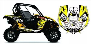 Kit Gráfico UTV Can-am Maverick 1000 - BRP Racing