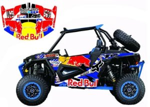 Kit Gráfico UTV Can-am Maverick 1000 - Redbull 2