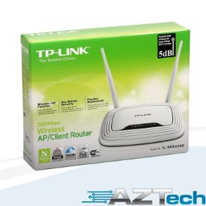 Roteador Cliente Repetidor Wisp Wireless Tplink Tl-wr843nd