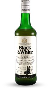 Whisky Black & White - 1L
