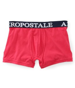 Cueca Aéropostale Masculina Solid Knit Trunks - Pink Force