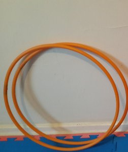 Par de Mini Hoops - PEAD