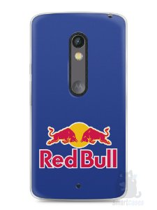 Capa Capinha Moto X Play Red Bull #2