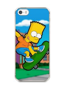 Capa Iphone 5/S Bart Simpson Skate