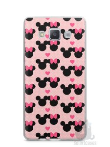 Capa Samsung A5 Mickey e Minnie